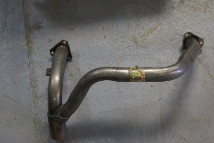 "Front Y Pipe,2 1/2"" Bore (At Manifold),2"" Bore (System),Used"